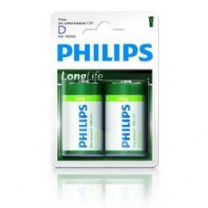 Philips R20 Longlife 1.5V size D 2 x D