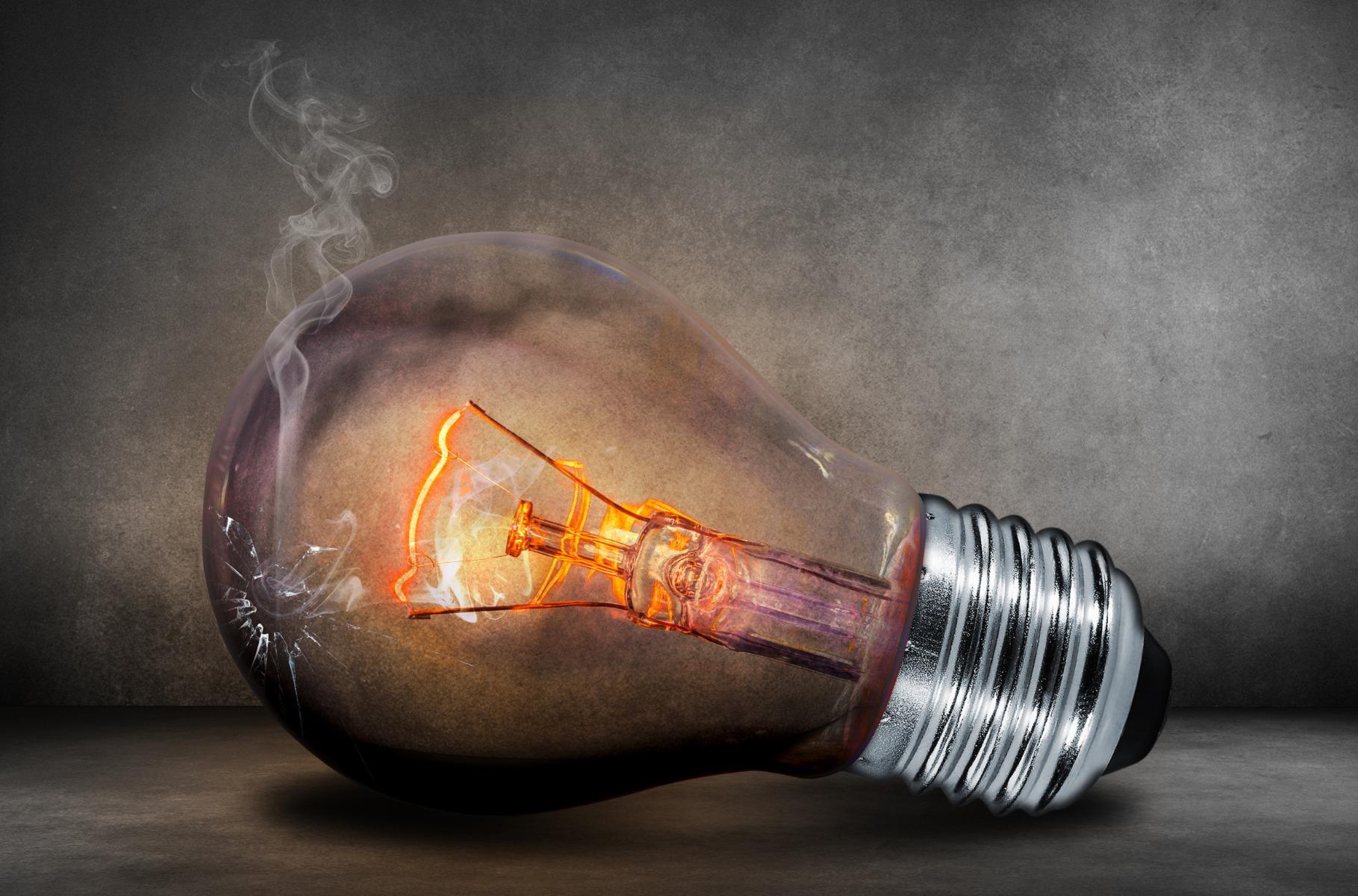 Uitfasering Lichtbronnen: Oude Gloeilamp